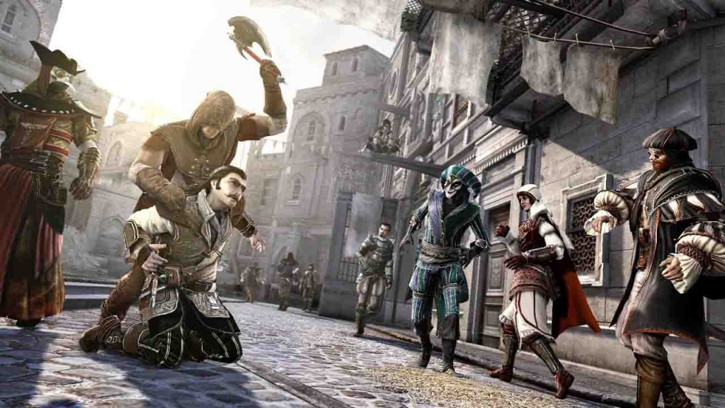 بازی ایکس باکس Assassins-Creed Brotherhood