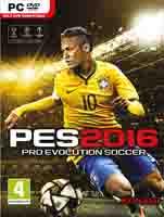 بازی کامپیوتر فوتبال PES 2016 اورجینال