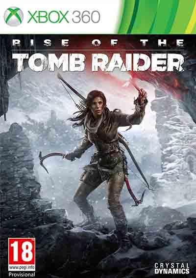 بازی ایکس باکس 360 ظهور تام رایدرRise of the Tomb Raider اورجینال