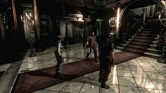 بازی-Resident-Evil-HD-Remaste