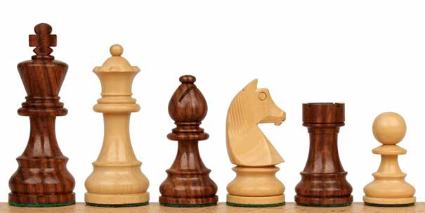 german_knight_chess_pieces_golden_rosewood_boxwood_both_