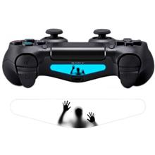gaming-console-accessories-lightbar-wensoni-scary-hands-sticker-for-dualshock-4